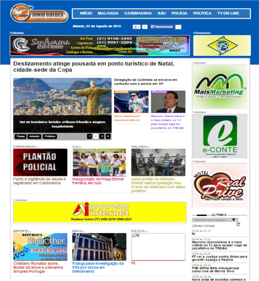 Script Php Portal Noticias 3